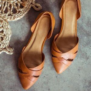Bohme - Sierra Woven Leather Flats (Women's 10)